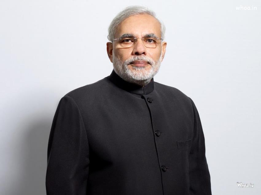 Shivaji 3d Wallpapers Narendra Modi Black Suit Leadership Of Indian Government