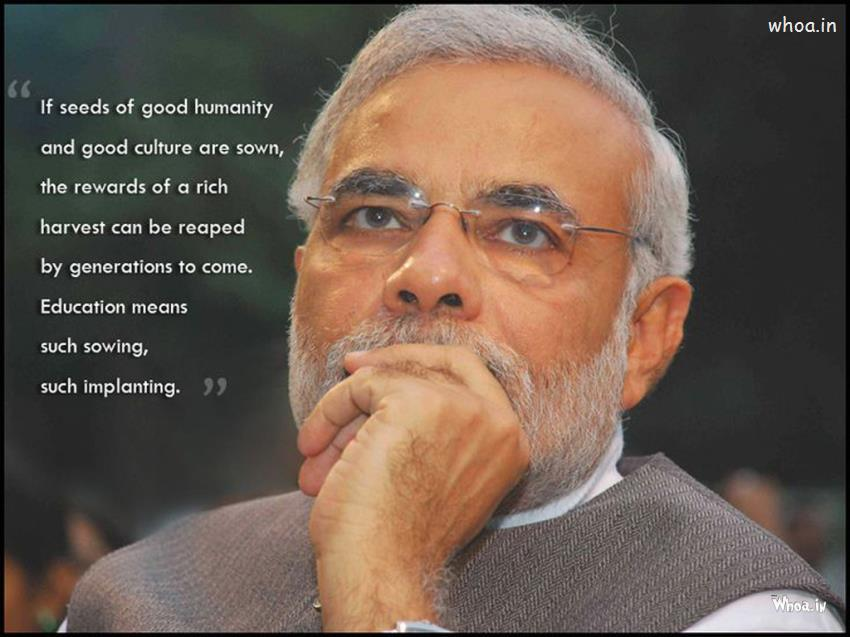 Cute Happy Teachers Day Wallpaper Narendra Modi Our Pm With Leadership Quotes Hd Wallpaper