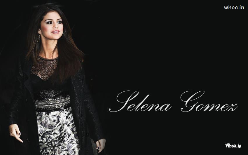 3d Hd Ganesh Wallpaper Selena Gomez In Black Outfits Hd