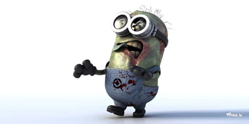 Hd Motivational Wallpapers For Android Zombie Minions With White Background Hd Wallpaper