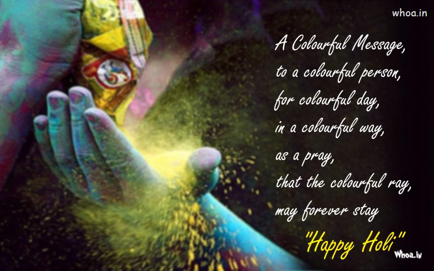 Lord Buddha 3d Wallpapers Hd Happy Holi Greetings Colorful Message To A Colorful Person