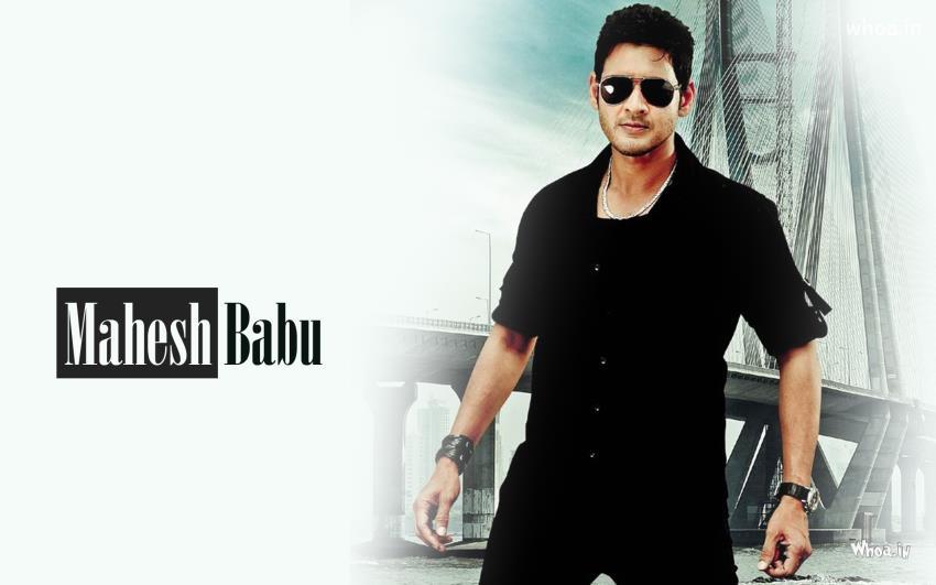 Akshay Kumar Hd Wallpaper Mahesh Babu In Black Clothes And Black Glasses