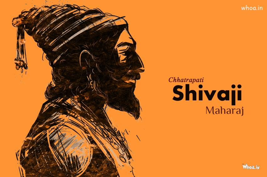 Sivaji 3d Wallpaper Chatrapati Shivaji Maharaj Art Hd Wallpaper
