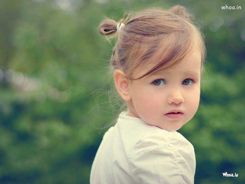 Small Cute Babies Hd Wallpapers Cute Baby Girl Black Eyes With Face Closeup Hd Cute Baby