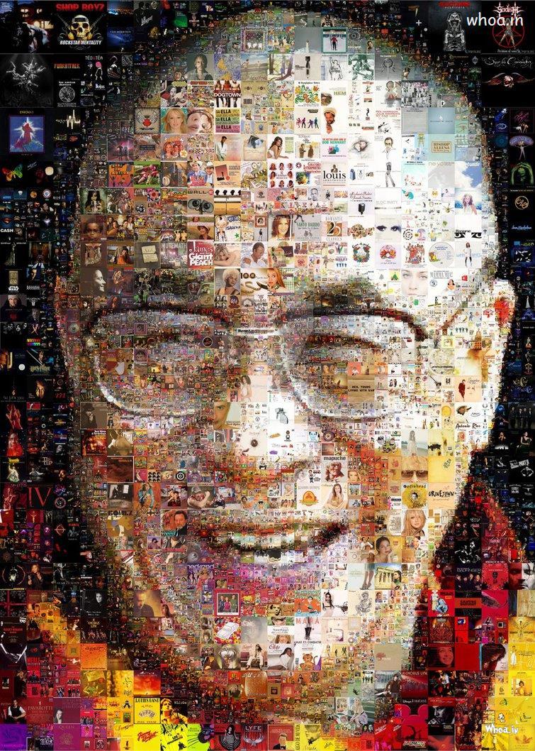 Cute Cartoon Face Wallpaper Dalai Lama With Multiple Images In Face Letest Hd Wallpaper