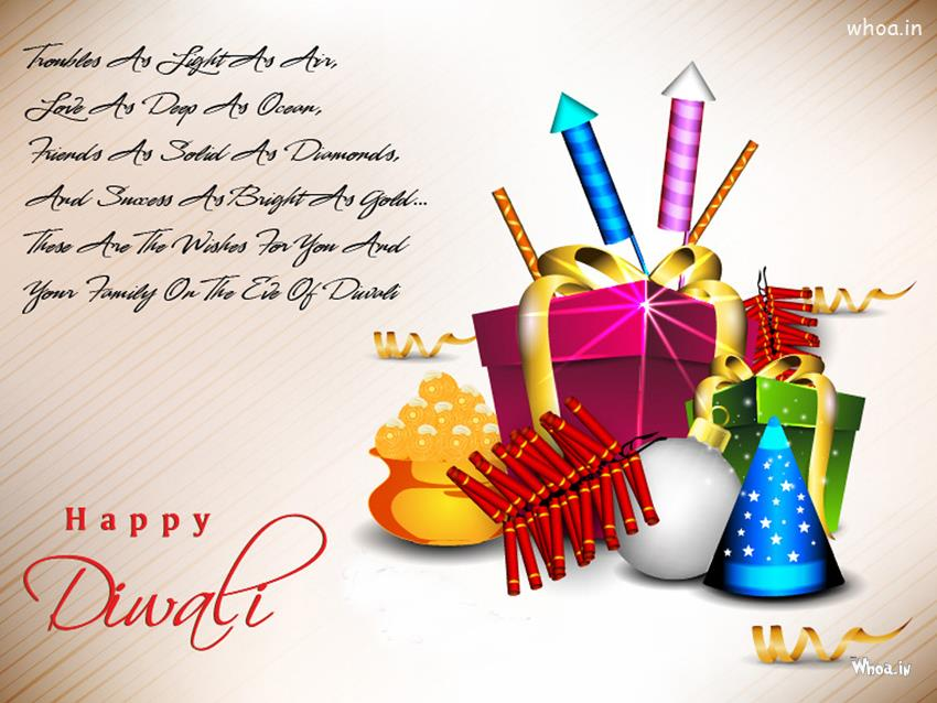 Laxmi 3d Name Wallpaper Happy Diwali With Fire Crackers And Quotes With White