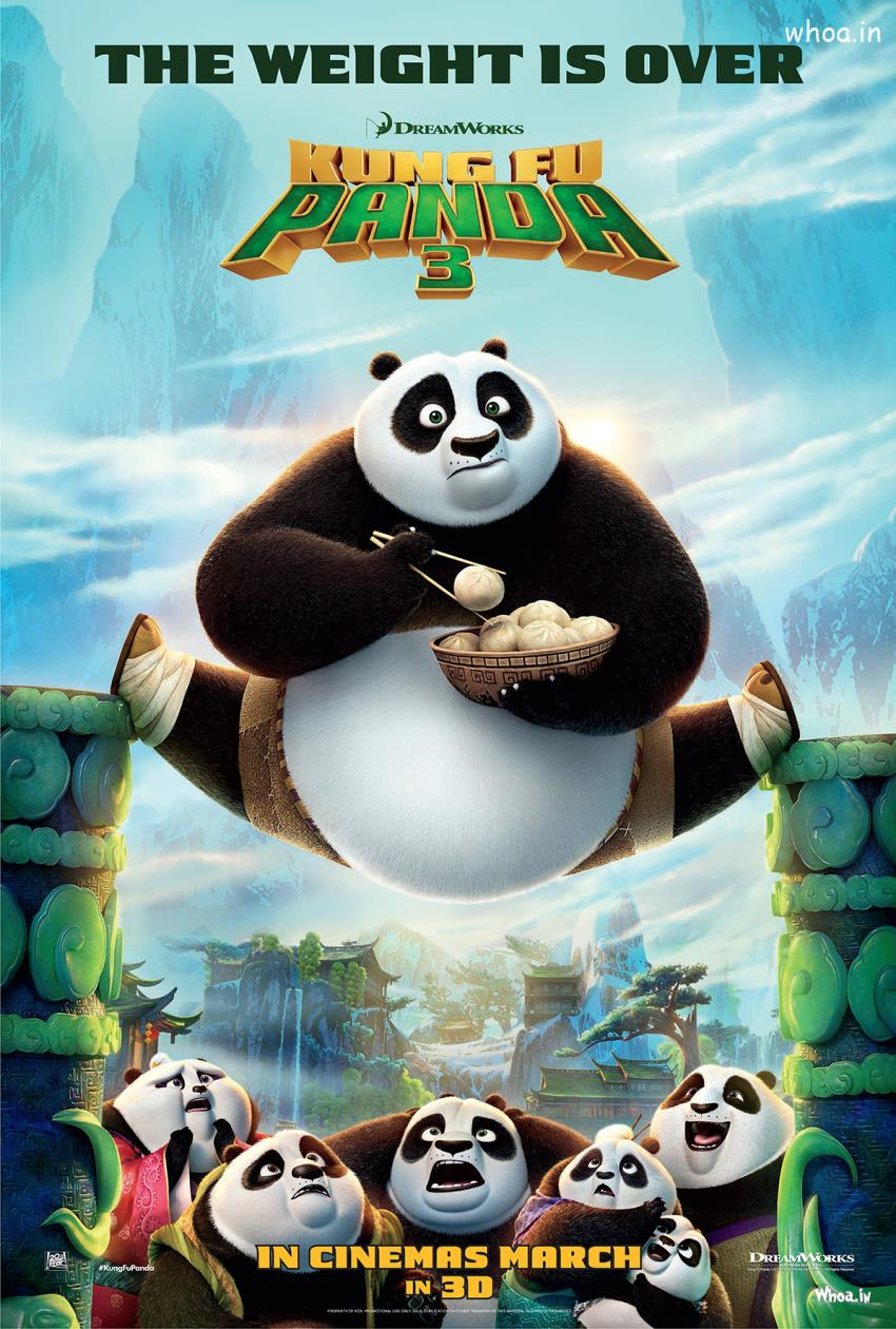 Baby Kung Fu Panda Hd Wallpapers Hollywood Animation Movie Kung Fu Panda 3 Poster