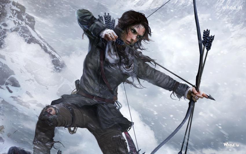 Lord Shiva Hd Wallpapers For Pc Lara Croft Rise Of Tomb Raider Pc Games Hd Wallpaper