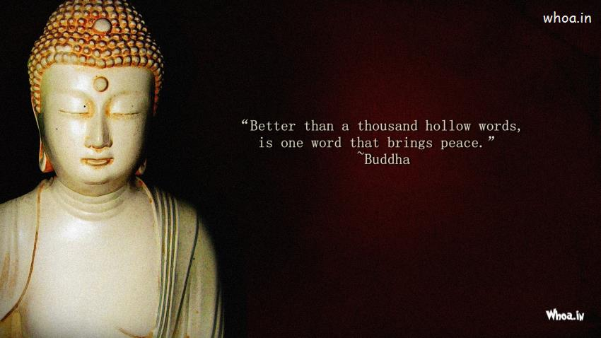 Lord Buddha 3d Wallpapers Hd Lord Buddha With Quotes Hd Wallpaper