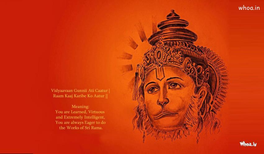 Lord Buddha 3d Wallpapers Hd Lord Kesari Nandan Hanuman Face Hd Wallpaper