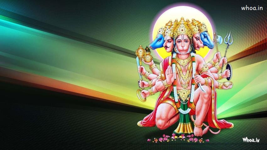 Sri Krishna Hd Wallpaper Download Lord Panchmukhi Hanuman Hd Wallpaper