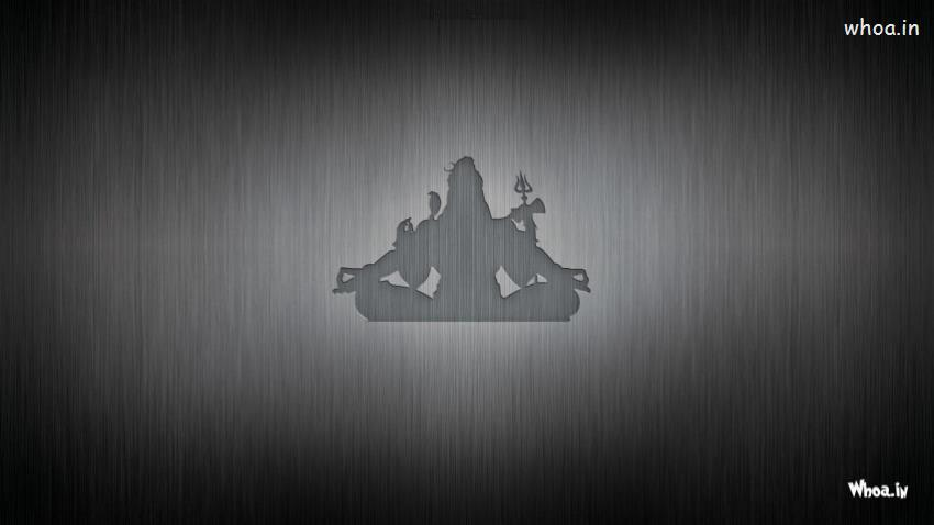 Buddha Quotes Wallpaper Desktop Lord Shiva Cartoon With Dark Background Hd Wallpaper