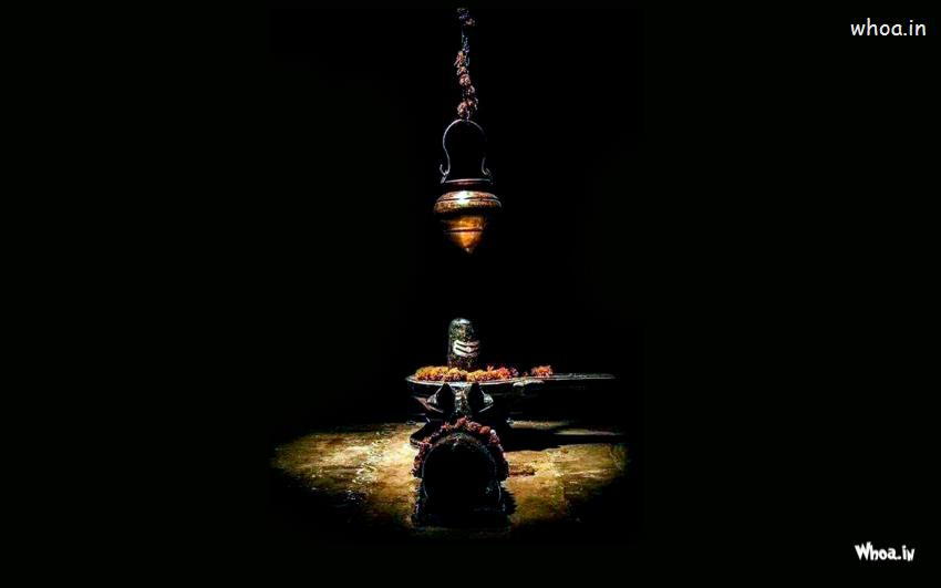 Lord Shiva Lingam Wallpapers 3d Lord Shiva Shivling With Nandi Wallpaper With Dark Background