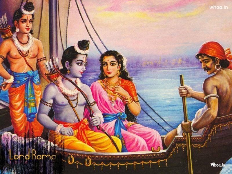 Cute Baby Ganesha Wallpapers Lord Shri Ram With Sita Mata And Laxman Hd Wallpaper