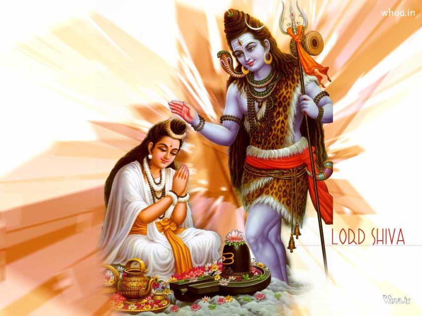 Lord Buddha 3d Wallpapers Hd Mahashivratri Lord Shiva Bless Mata Parvati Ji Hd Wallpaper