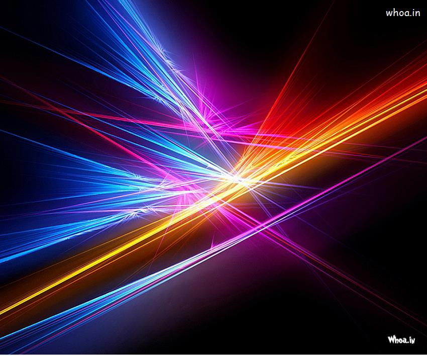 Happy New Year 2016 3d Wallpaper For Pc Multi Colour Abstract Laser Light Hd Wallpaper
