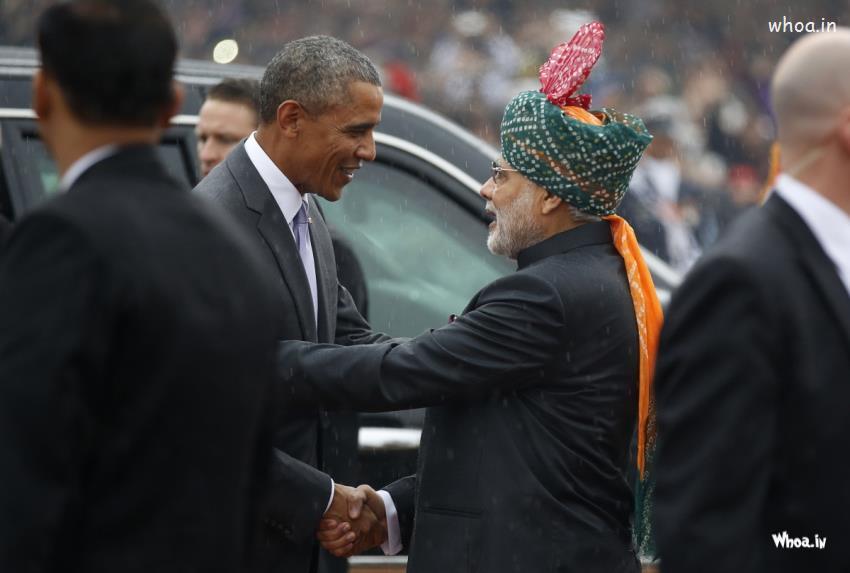Ganesh Chaturthi Wallpapers 3d Narendra Modi With Barack Obama In America Hd Wallpaper