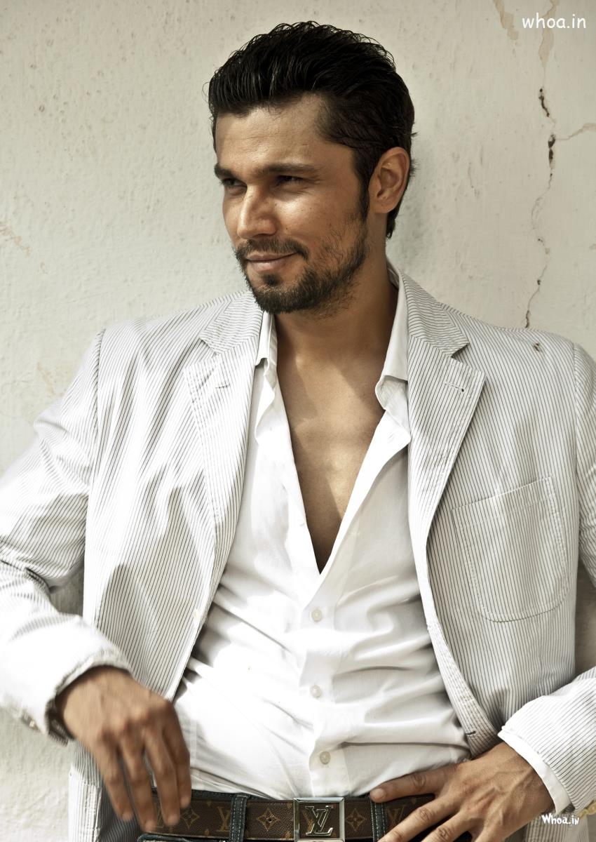 Joker Quotes Wallpaper Hd Randeep Hooda White Suit Hd Bollywood Actor Wallpaper