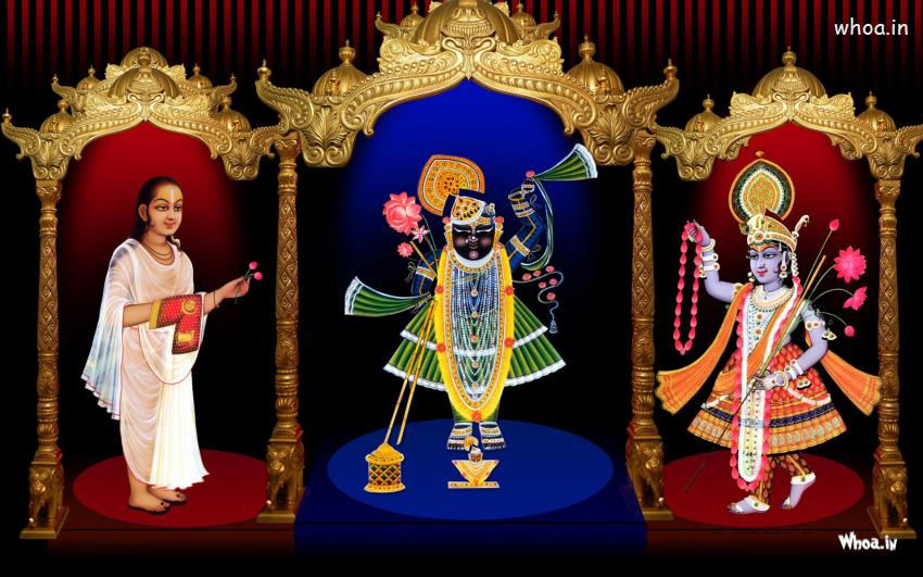 Cute Pinterest Quote Wallpapers Shree Nathji Yamunaji Mahaprabhuji Hd Desktop Wallpaper