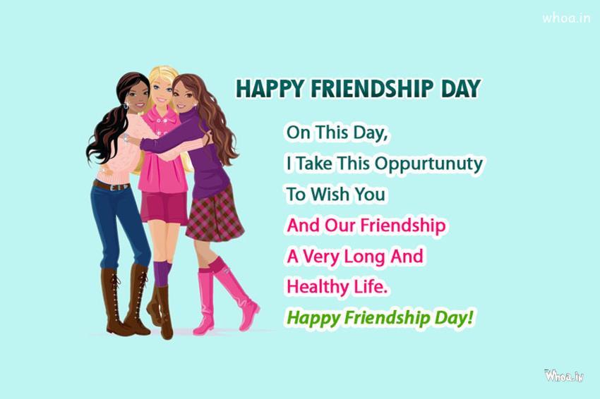 Radhe Krishna Wallpaper With Quotes Image Of Wishing Friendship Day