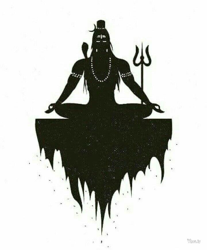 Shivaji Maharaj Hd Wallpaper For Pc Black And White Image Of Lord Shiva In Dhyan Mudra