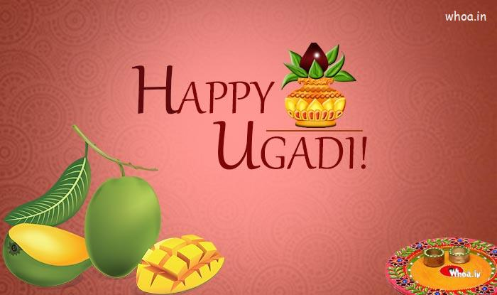 Valentine Day Hd Wallpaper With Quotes The Wonderful Image Of The Happy Ugadi With Beautiful Kumbh
