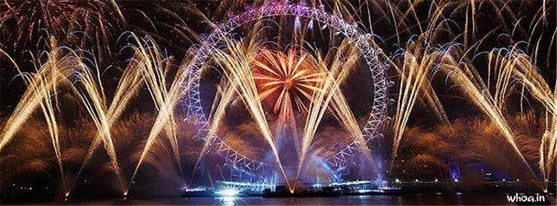 Om 3d Wallpaper Download London Eye New Year Facebook Cover