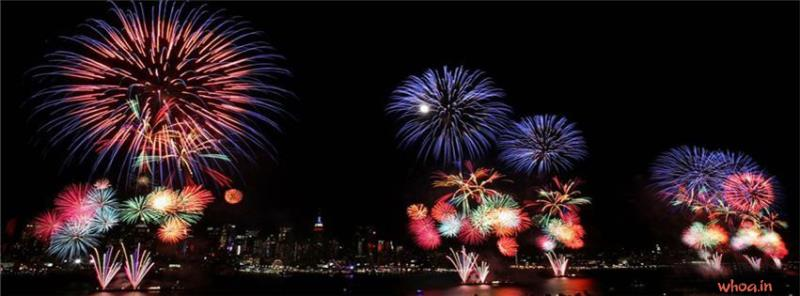 Romantic Hd Wallpaper With Quotes New York Firework Facebook Cover
