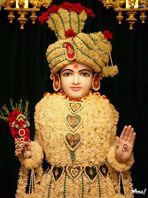 Good Morning Wallpapers With Beautiful Quotes Swaminarayan Bhagwan Wallpaper