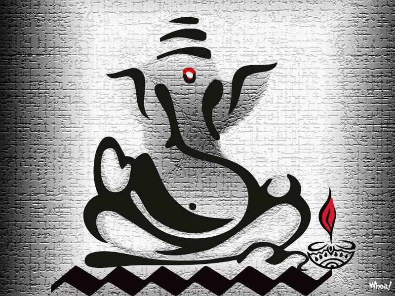 Desktop Wallpaper Hd 3d Full Screen God Ganesh God Ganesh Wallpaper
