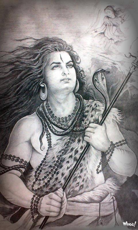 Mahadev God 3d Wallpaper Lord Shiva Art Wallpaper