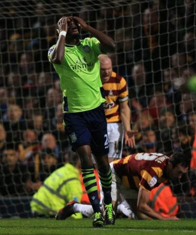 Soccer – Capital One Cup – Semi Final – First Leg – Bradford City v Aston Villa – Coral Windows ...