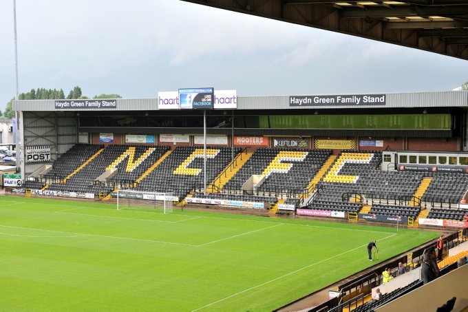 Around The Grounds Meadow Lane Home Of Notts County