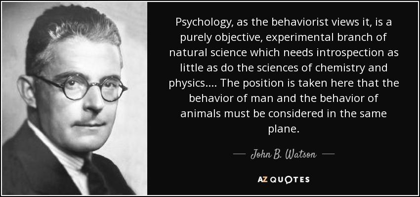 Who found the Behaviorism - Who Invented First - behaviorism