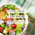 I love salads because it is an opportunity to eathellip