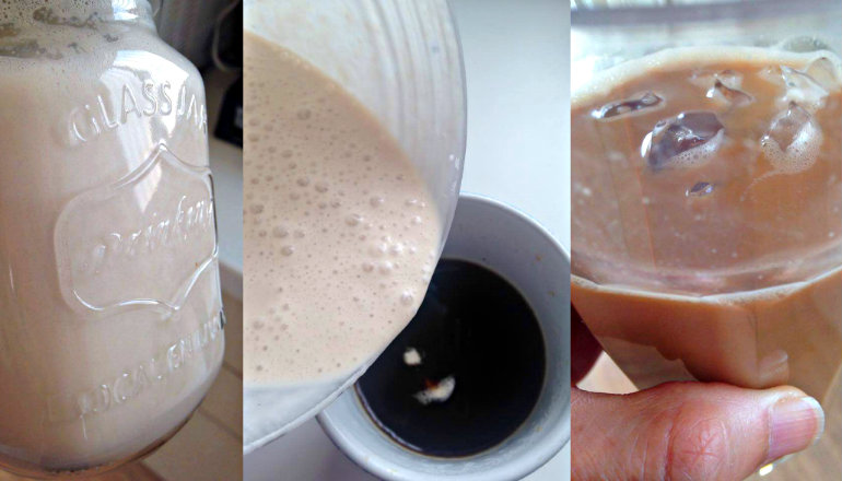 Make Your Own Non-Dairy, Natural Coffee Creamer - Whole Life Challenge