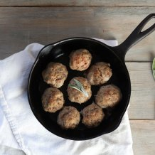 Ginger Sage Turkey Patties