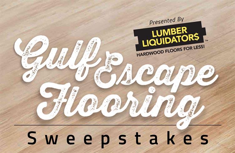 Gulf escape flooring sweepstakes whole mom for Dalton flooring liquidators