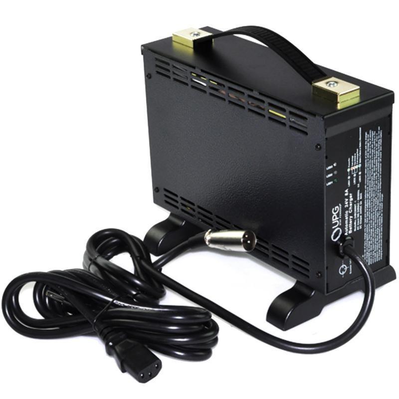 24v 8amp 24BC8000T-1 off-board AGM, GEL Battery charger XLR