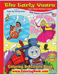 Wholesale Coloring Books | Early Years big