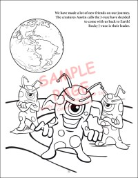 Wholesale Coloring Books | Outer Space