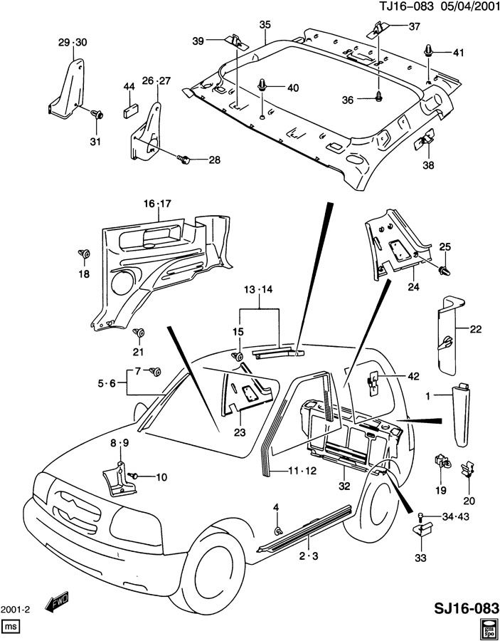 2004 ford windstar fuse panel diagram