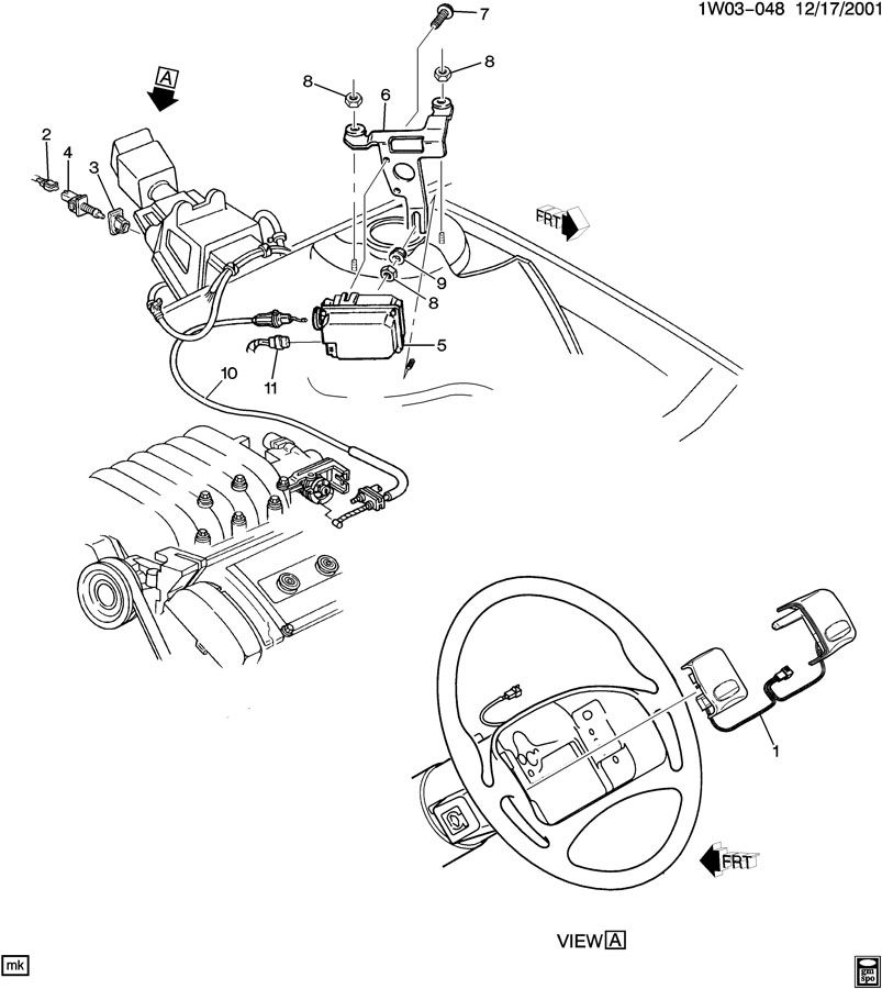 gm vehicle cruise control wiring pigtails