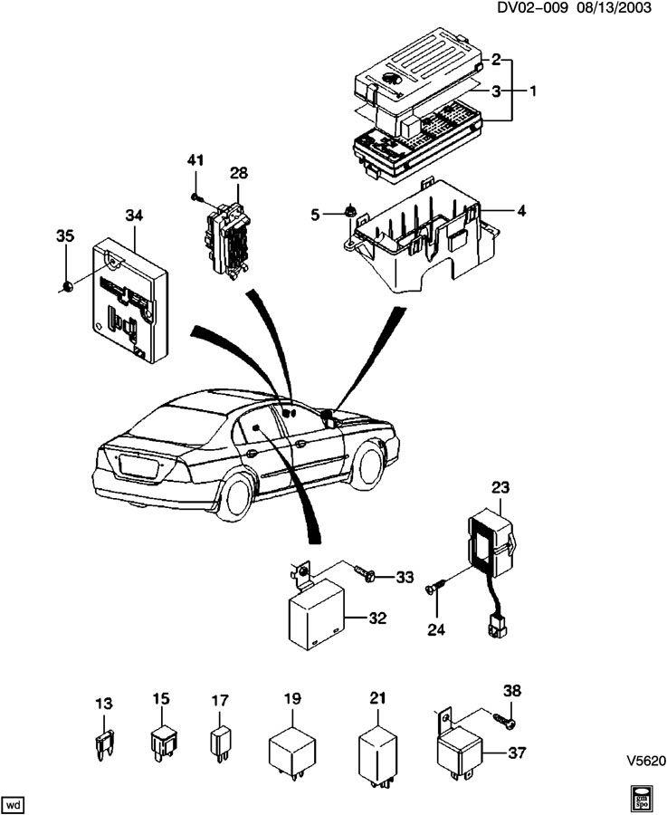 2004 chevrolet optra engine diagram