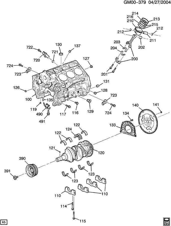 06 cadillac sts v6 engine