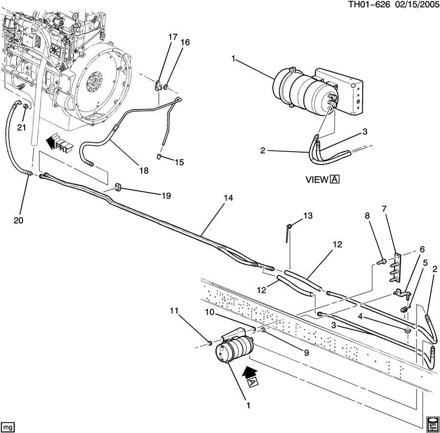 davco fuel filter parts