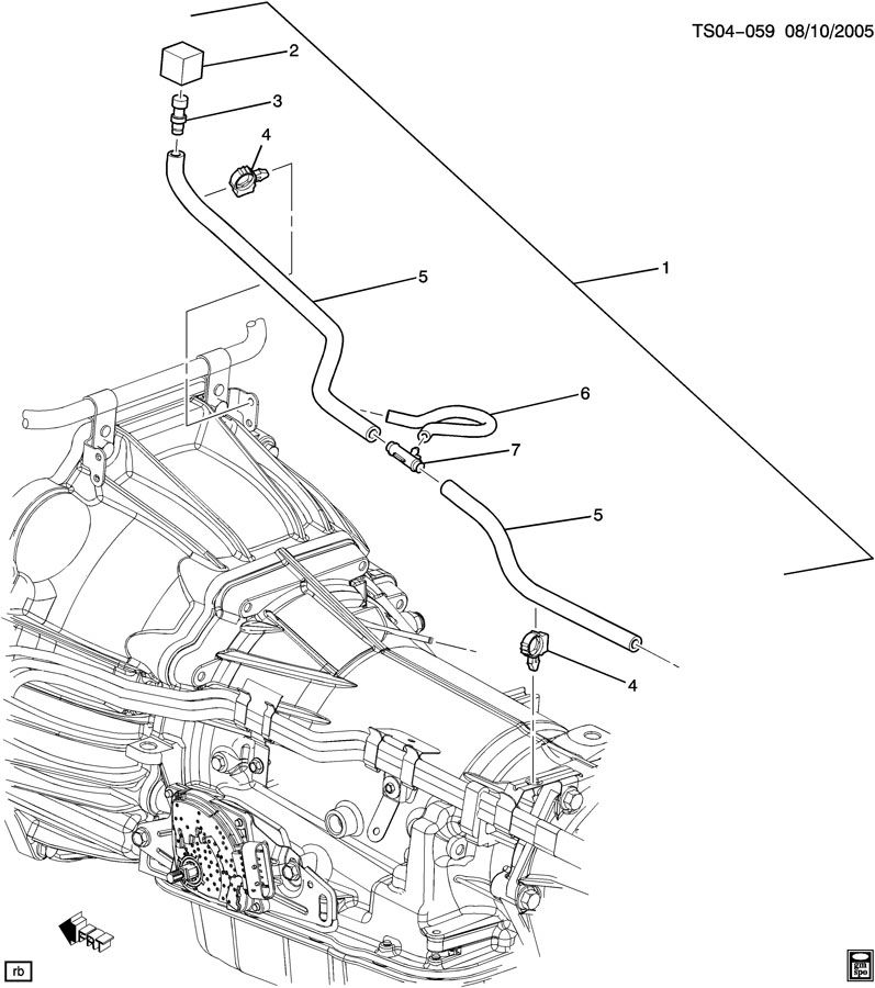 2005 buick rainier engine diagram