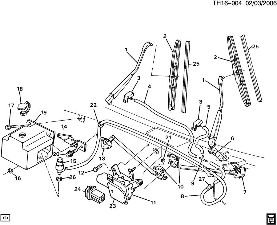 Wexco Wiper Motor Schaltplang - Auto Electrical Wiring Diagram