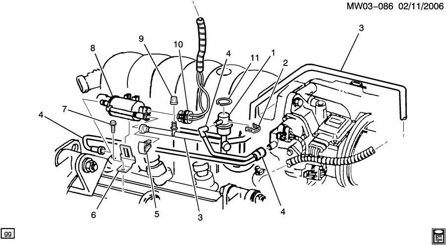 2002 gm 3800 vacuum diagram