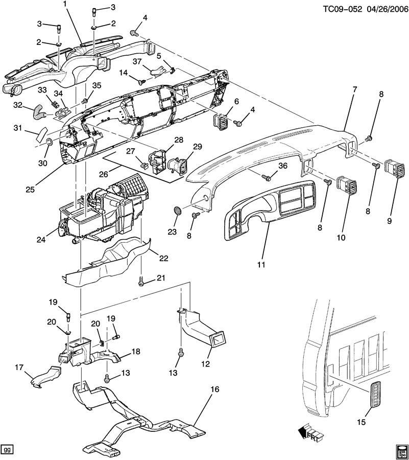 1989 silverado air conditioning diagram